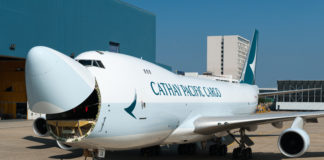 Cathay Pacific 747 freighter